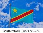 the democratic republic of... | Shutterstock . vector #1201723678