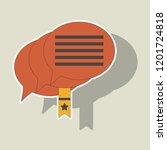 sticker zip file. notebook and... | Shutterstock .eps vector #1201724818