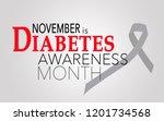 November Is Diabetes Awareness...