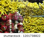 traditional turkish pickles of... | Shutterstock . vector #1201738822