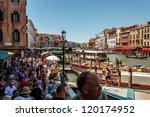 Italy  Venice   July 16  Crowd...