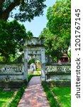 hanoi  vietnam   november 24... | Shutterstock . vector #1201767145