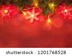 christmas and new year holidays ... | Shutterstock . vector #1201768528