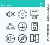 contains such icons as playoff  ... | Shutterstock .eps vector #1201822228
