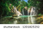 hidden paradise in pacitan east ... | Shutterstock . vector #1201825252