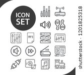 contains such icons as... | Shutterstock .eps vector #1201825318