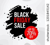 exclusive black friday sale... | Shutterstock .eps vector #1201845142