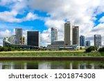 vilnius  lithuania   circa...   Shutterstock . vector #1201874308