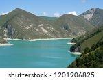lake kezenoy am in caucasus... | Shutterstock . vector #1201906825