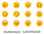 vector golden circles...