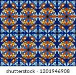 geometric seamless pattern....   Shutterstock .eps vector #1201946908