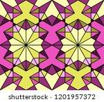 geometric seamless pattern....   Shutterstock .eps vector #1201957372