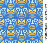vector illustration. african... | Shutterstock .eps vector #1201963495