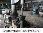 drilling machine turning works... | Shutterstock . vector #1201966672