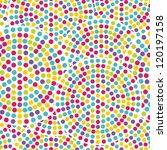 seamless  dot pattern | Shutterstock .eps vector #120197158