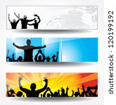 advertising banner for sports... | Shutterstock . vector #120199192