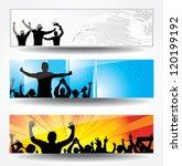 advertising banner for sports... | Shutterstock . vector #120199192