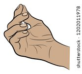 isolated vector illustration.... | Shutterstock .eps vector #1202011978