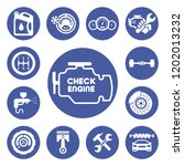 auto service icons set | Shutterstock .eps vector #1202013232