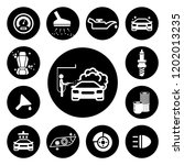 auto service icons set | Shutterstock .eps vector #1202013235