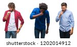 collage of group of african... | Shutterstock . vector #1202014912