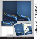 corporate identity business set.... | Shutterstock .eps vector #120201658