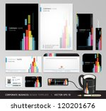 corporate identity business set ... | Shutterstock .eps vector #120201676