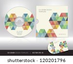 cd cover design template. ...