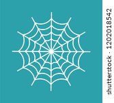 spider web isolated. cobweb... | Shutterstock .eps vector #1202018542