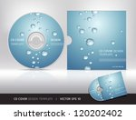 Cd Cover Design With Water Dro...
