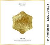 premium quality golden label... | Shutterstock .eps vector #1202024635