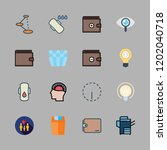 problem icon set. vector set... | Shutterstock .eps vector #1202040718