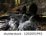 Rushing Water Spills Out From...