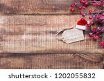 christmas decor on the old... | Shutterstock . vector #1202055832