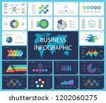 business presentation page... | Shutterstock .eps vector #1202060275