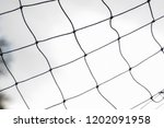 close up soccer net and string...   Shutterstock . vector #1202091958