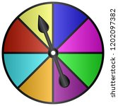 Board Game Color Spinner Vector ...