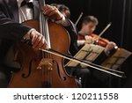 Symphony Concert  A Man Playin...