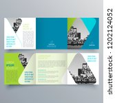 brochure design  brochure... | Shutterstock .eps vector #1202124052
