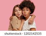 photo of affectionate lovely... | Shutterstock . vector #1202142535