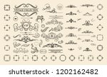 vintage decor elements and... | Shutterstock .eps vector #1202162482