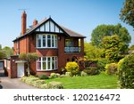 Typical English House With A...