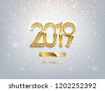 2019 new year loading luxury... | Shutterstock .eps vector #1202252392