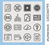 contains such icons as usa ... | Shutterstock .eps vector #1202260795