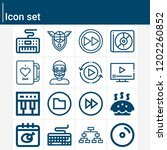 contains such icons as playoff  ... | Shutterstock .eps vector #1202260852