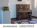 bran  transylvania romania  ... | Shutterstock . vector #1202272915