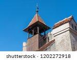 bran  transylvania romania  ... | Shutterstock . vector #1202272918
