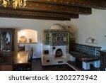 bran  transylvania romania  ... | Shutterstock . vector #1202272942