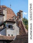 bran  transylvania romania  ... | Shutterstock . vector #1202272945