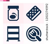 contains such icons as rack ... | Shutterstock .eps vector #1202274592